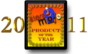 Stereomojo 2011 PRODUCT OF THE YEAR Small
