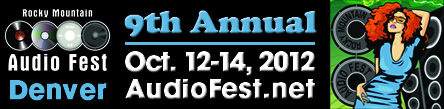 Rocky Mountain Audio Fest 2012